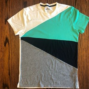 Hollister Color Block Tee